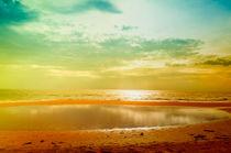 Wunderschöner Sonnenuntergang auf Sri Lanka von Gina Koch