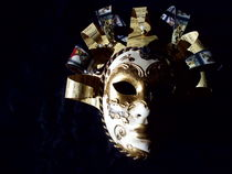 Mask Venice, Carnival February von Tricia Rabanal