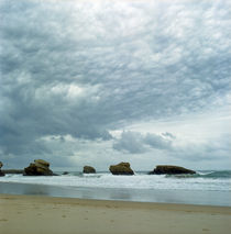 beautiful beach and fantastic clouds von Vsevolod  Vlasenko