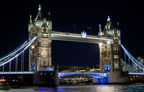 Tower Bridge at night by Howard Corlett