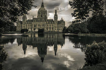 Hannover, Rathaus by Bernhard Rypalla