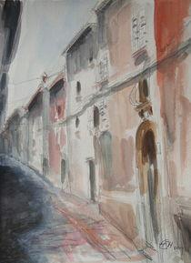 Gasse in Rovinj by Ellen Fasthuber-Huemer