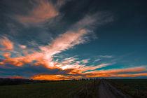 evening sky von Bernhard Rypalla