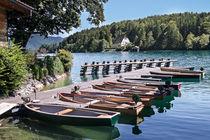 Rowboats by Bernhard Rypalla