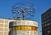 Weltzeituhr - Alexanderplatz von captainsilva