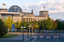 Deutscher Reichstag - Regierungsviertel - Berlin  von captainsilva