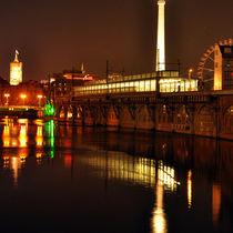 Jannowitzbrücke - Nacht - Berlin by captainsilva