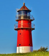 Lighthouse Büsum by Michael Beilicke