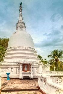Tempelanlage auf Sri Lanka von Gina Koch