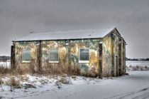WWII Building Rufforth Airfield by Allan Briggs