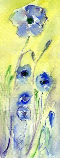 blaue Mohnblumen von claudiag