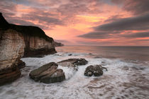 Thornwick Bay Sunrise 2 by Martin Williams