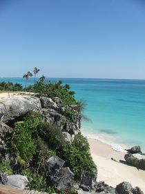 Paradise Tulum Mexico,Landscape by Tricia Rabanal