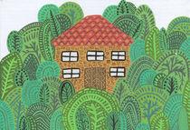 House in the Woods by Tasha Goddard