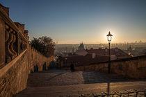 Prague in the morning von Arkadius Ozimek