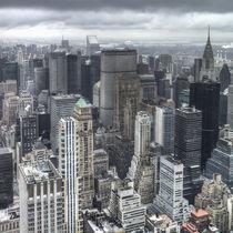 Rainy Manhattan von David Tinsley