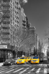 New York Cabs von David Tinsley