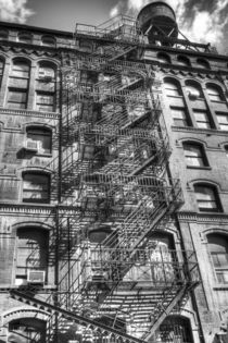 Apartment Block von David Tinsley