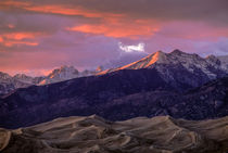 Sangre de Cristo Sunset by Barbara Magnuson & Larry Kimball