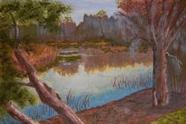 At the Bend on the Ocklawaha by Warren Thompson