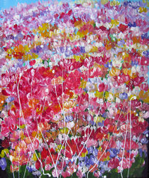 Flower Fantasy by Liudmyla Rozumna