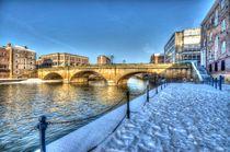Ouse Bridge by Allan Briggs