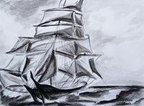 Segelboot by Irina Usova