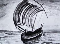 Japanisches Segelboot von Irina Usova