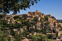 Stadt der Provence von Jürgen Feuerer