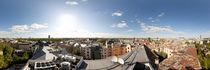 From the birds eye panorama, Riga, Latvia von paulsphoto
