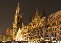 Munich in Christmas by Victoria Savostianova