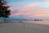 Sunset in Thailand by Victoria Savostianova