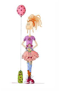 Puppen - feminina von Monika Blank-Terporten