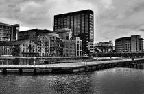 Dublin Grand Canal Docks by Gustavo Oliveira