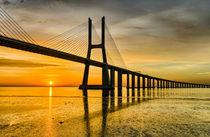 Lisbon Sunrise von Michael Abid