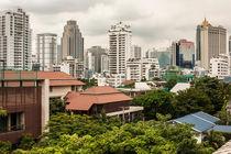Bangkok city landscape by Chris Christidis