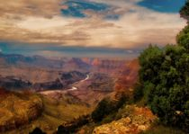 GRAND CANYON AFTER THUNDERSTORM by Maks Erlikh