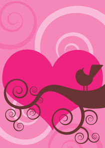 love and a bird 5 von thomasdesign