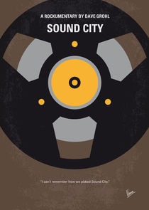 No181 My Sound City minimal movie poster by chungkong