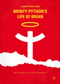 No182-my-monty-python-life-of-brian-minimal-movie-poster