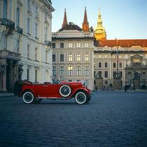 old red retro car  by Vsevolod  Vlasenko