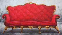 rotes Sofa by Renate Berghaus
