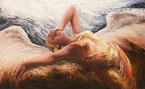 liegender Engel 3 by Renate Berghaus
