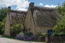 Cottages with hydrangeas von Ralf Rosendahl