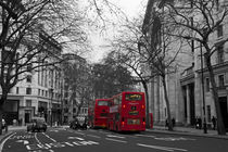 Red London Buses von David Pringle