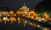 Petersdom - Rom - Engelsbruecke - Papst von captainsilva