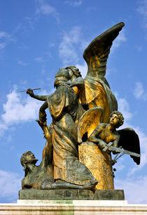 Statue-der-gedanke-nationaldenkmal-rom