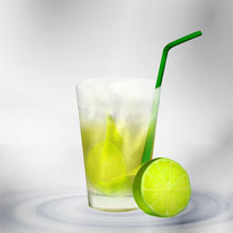Cocktail Caipirinha by Gina Koch