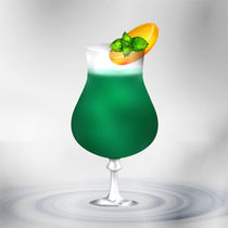 Cocktail Mint Green by Gina Koch