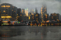 A Gray and Misty Day, Downtown Manhattan by Chris Lord